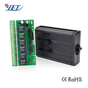 Six-Circuit-channel Wireless Intelligent Receiving Receiver YET406PC-X