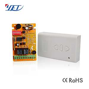 universal large memory and long range of voltage remote control receiver YET420PC