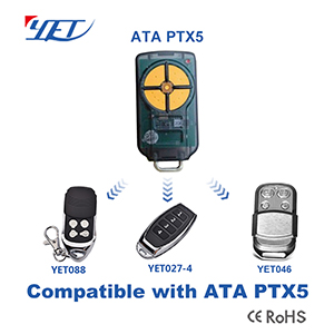 YET RF wireless remote control switch compatible with ATA PTX-5