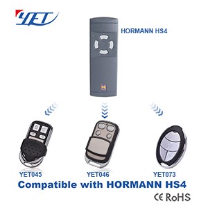 YET wireless RF remote control compatible HORMANN HS4