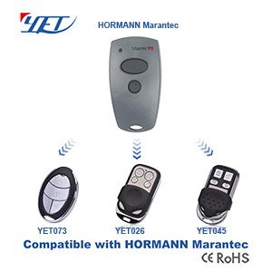 YET RF wireless remote control switch compatible with HORMANN MARANTEC